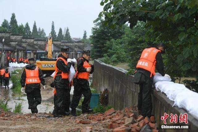 国家防办、应急管理部再向皖调拨中央防汛物资